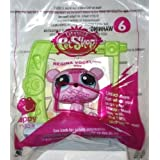 2015 Mcdonald's Happy Meal Toy Littlest Pet Shop Petshop # 6 Regina Vogel