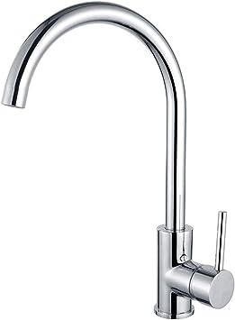 Kibath L412561 Creta Chrome Gloss Kitchen Sink Mixer Tap Amazon Com