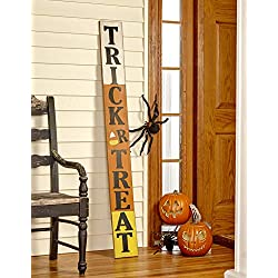 The Lakeside Collection 5' Trick or Treat Sign for Halloween
