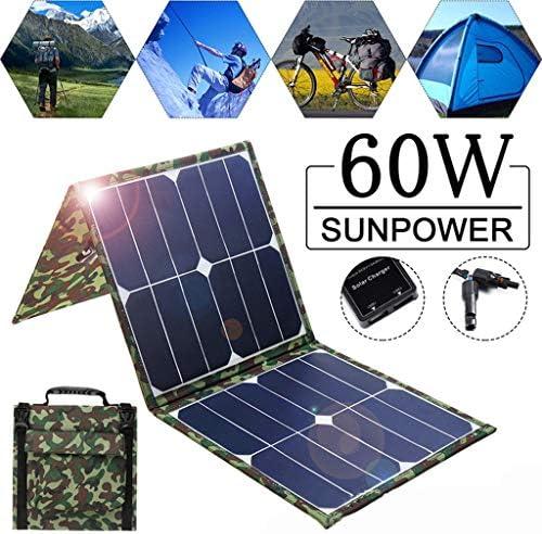 Liu- ソーラーパネル60ワット折りたたみバッグポータブルポータブルソーラー充電バッグ18V屋外専用890×415×2.5ミリメートル
