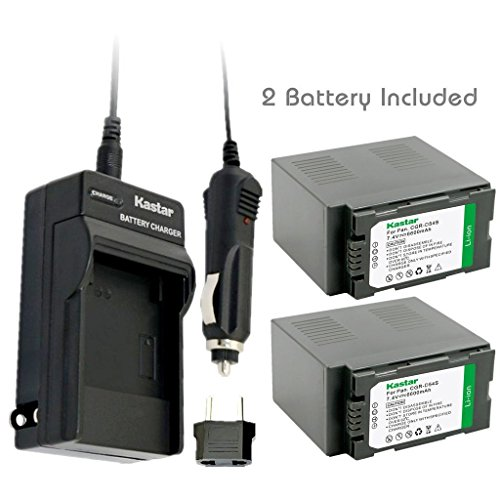 fencing workout kastar battery 2 pack and charger kit for panasonic cgr d54s cga d54s vsk0581 ag 3da1 ag dvc30 ag dvc32 ag dvc33 ag dvc60nv ds29 nv ds30 nv ds50 nv gx7