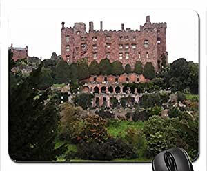 Powys Castle Mouse Pad, Mousepad (Medieval Mouse Pad, 10.2 x 8.3 x 0.12 inches)