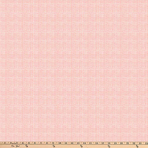 FIGO Eloise's Garden Checks Pink Fabric by The Yard