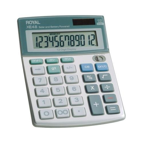 ROYAL PURPLE Royal 29306S Compact Desktop Solar Calculator by Royal Purple (Desktop Compact Royal)