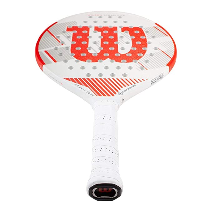 Amazon.com : Wilson Steam Lite Countervail Platform Tennis Paddle : Sports & Outdoors