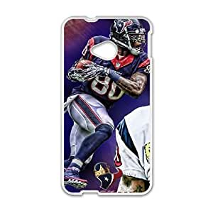 Houston Texans HTC One M7 Cell Phone Case White persent zhm004_8447395