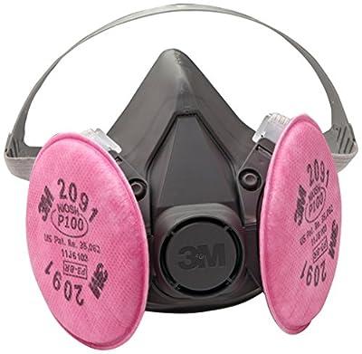 3M Half Facepiece Reusable Respirator Assembly (AAD), P100 Respiratory Protection