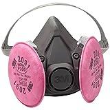 3M 6391 P100 Reusable Respirator Gas Mask, Large