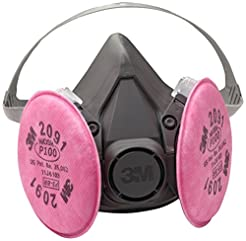 3M Half Facepiece Reusable Respirator As...
