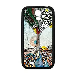 Happy Creative Pattern Fashion Comstom Plastic case cover For Samsung Galaxy S4