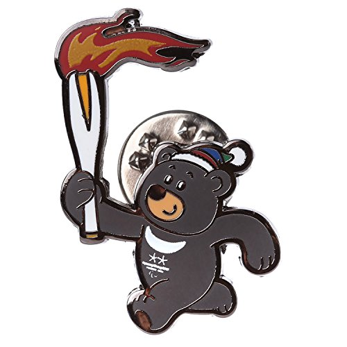 Pyeongchang 2018 Winter Olympic Official Licensed Collectible Pin Badge (Torch Relay Bandabi)