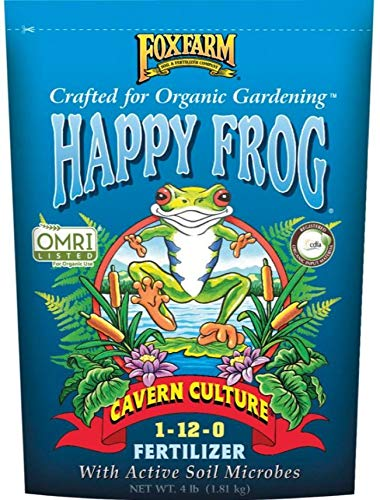Jamaican Bat Guano - FoxFarm FX14056 FoxFarm Happy Frog High Phosphate Bat Guano Fertilizer