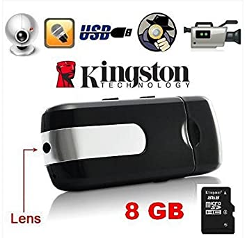 Mini Camara espía OCULTA Memoria USB detección movimiento activado +microSD de 8GB: Amazon.es: Electrónica