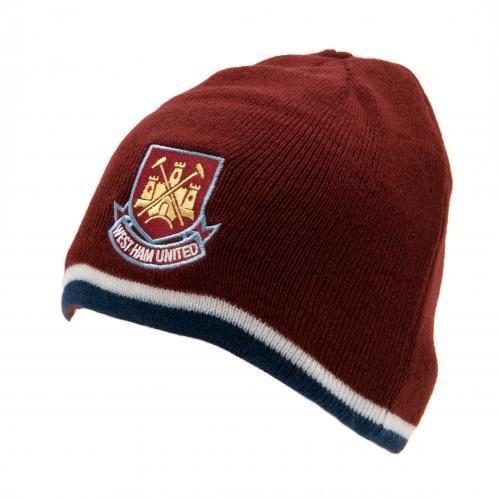 (West Ham United FC - Authentic EPL Reversible Knit Hat)