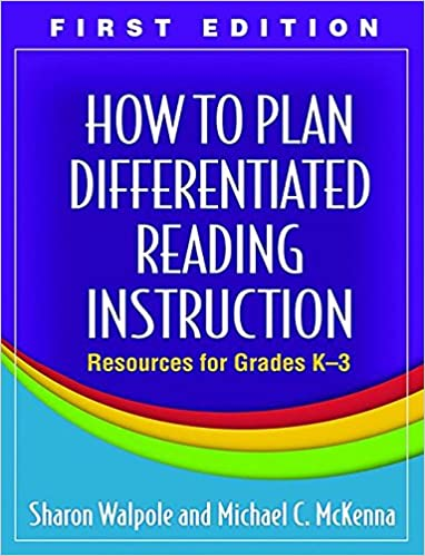 Amazon How To Plan Differentiated Reading Instruction First