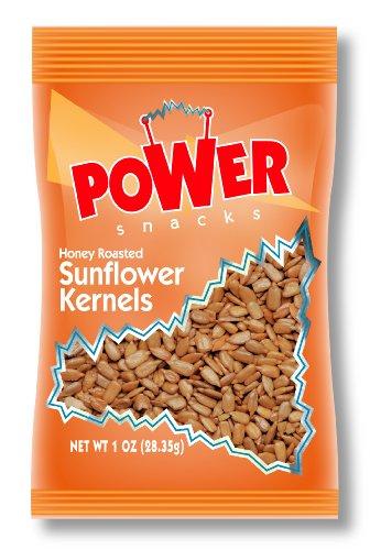 Azar Nut Company Sunflower Kernals, Honey Roasted, 1-Ounce Bags (Pack of (Azar Nut)