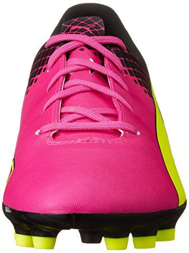 Rose Puma Ag Chaussures Pink De Tricks Glo Evospeed pink Mixte 01 Yellow Football Enfant Jr safety 5 black 5 PYwqrI1P