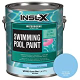 INSL-X WR102309A-01 Waterborne, Semi-Gloss Pool Paint 1 Gallon Ocean Blue