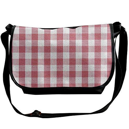 Red Casual Handbags Bag Fashion Bag Crossbody Men's Shoulder Fantasy Squares Black Designer 7w4Rq7d