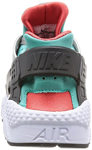 Nike Herren Air Huarache Flt Silber / Hell Crimson-klar Jade-Hyper