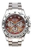 Rolex Cosmograph Daytona White Gold Silver Dial Watch 116509