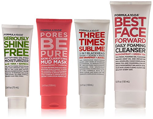 Formula Ten O Six Routine Collection, 1.487 Pound (Best Face Forward Face Wash)