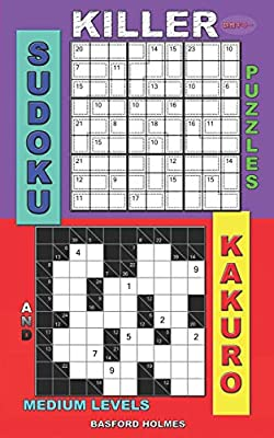 graphic about Kakuro Printable titled Killer sudoku puzzles and Kakuro.: Medium degrees. by means of Basford