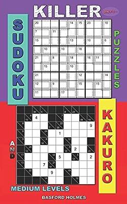 image regarding Kakuro Printable titled Killer sudoku puzzles and Kakuro.: Medium ranges. as a result of Basford