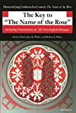 img - for The Key to The Name of the Rose: Including Translations of All Non-English Passages (Ann Arbor Paperbacks) book / textbook / text book