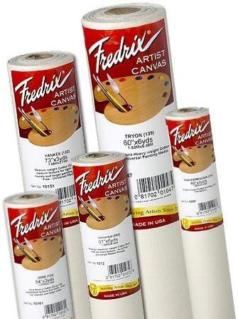 Fredrix Primed Canvas 583 56In X 30Yd Roll