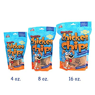 All Natural Chicken Chips- Dog Treats MADE in the U.S.A by KennelMaster Foods
