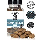 Hemp Oil for Dogs – 600 MG – Full Spectrum Hemp Extract. Great for Separation Anxiety + Stress Relief + Hip, Joint and Arthritis Pain. Calming Aid and Composure Support. 60 Tasty Treats Made in USA For Sale