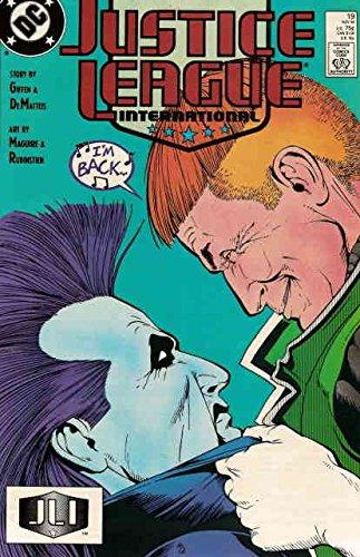 (Justice League International #19 VF/NM ; DC comic book)