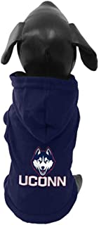product image for All Star Dogs NCAA Connecticut Huskies Cotton Hooded Dog Sweatshirt