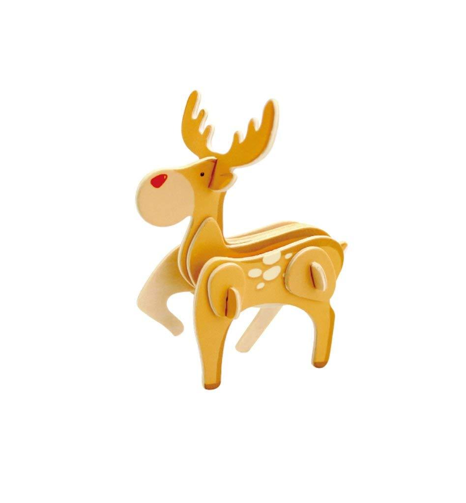 【数量限定】 Homeford DIYトナカイペイント木製クリスマスパズル 3-1 3-1/2インチ/2インチ B07HGJ2XCL B07HGJ2XCL, 城山町:aa43bf31 --- a0267596.xsph.ru