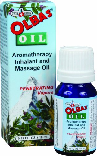 Olbas Therapeutic, Aromatherapy Inhalant and Massage Oil, 0.32 fl ounces.