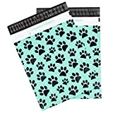 Inspired Mailers Poly Mailers 10x13 Puppy Paws – Pack of 100 – Unpadded Shipping Bags