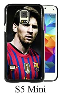 Beautiful And Unique Designed Case For Samsung Galaxy S5 Mini With Soccer Player Lionel Messi 15 black Phone Case
