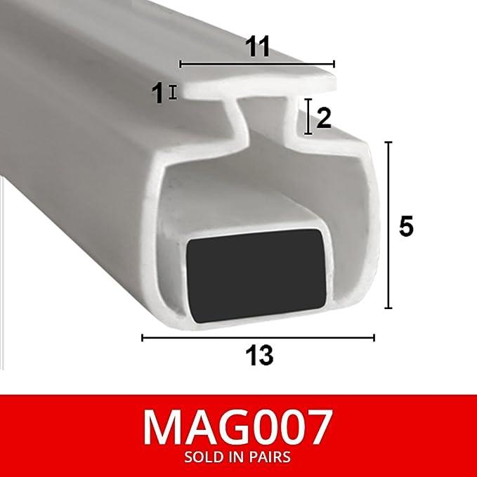 Sellos de ducha magnéticos para canales, se venden en pares, suave ...