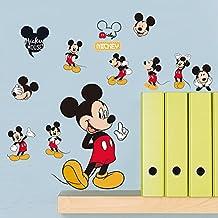 Fangeplus(TM) DIY Disney Mickey Mouse Classic Removable Art Mural Vinyl Waterproof Wall Stickers Kids Room Decor Nursery Decal Sticker Wallpaper 11.8''x7.8''