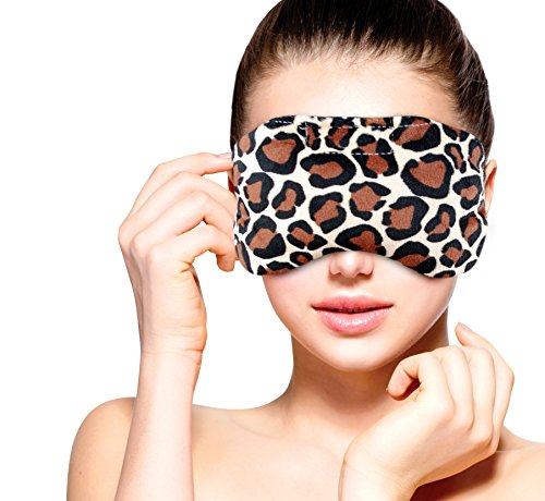 Heated Microwavable Eye Mask by FOMI Care | Lavender Scented, Reusable, Compress for Migraines, Dry Eyes, Headaches, and Sinus Relief | New Clay Bead Wrap Technology - Penetrates Soothing Moist (Lavender Clay Mask)