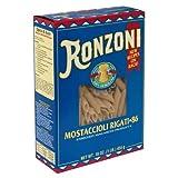 Ronzoni Mostaccioli Rigati Pasta 16 oz (Pack of 15)
