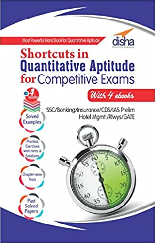Best Books For Quantitative Aptitude Preparation Book 5