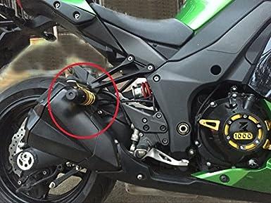 Alpha Rider Exhaust Slider Crash Protector for Kawasaki Z1000 2014-2015 Z1000SX 2014-2015 NINJA1000 2014-2015 Z800 2013-2015 Green