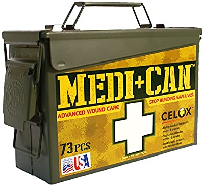 Be Smart Get Prepared 73-Piece Medi+Can First Aid and Advance Wound Care Kit by Total Resources International (TRI)