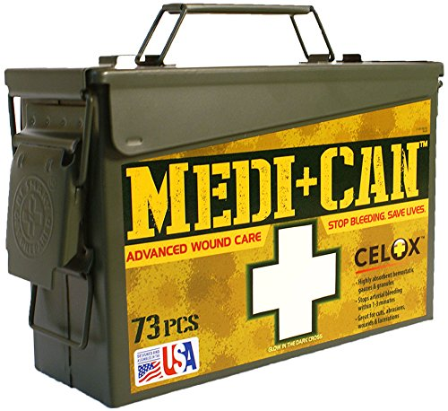 Be Smart Get Prepared 73-Piece Medi+Can First Aid and Advance Wound Care Kit