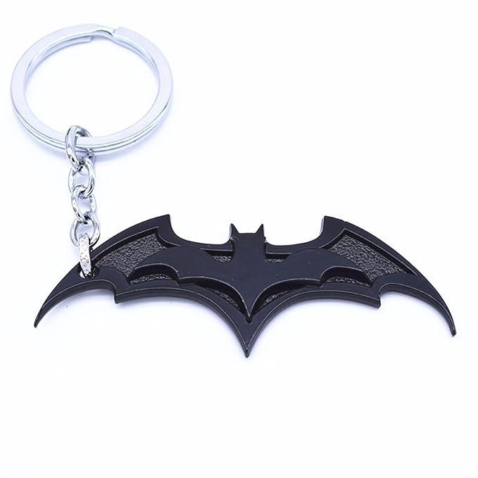 Amazon.com: Símbolo de Batman bate de llavero de alas de ...