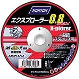 NORTON エクスプローラー 0.8 極薄切断砥石 105mm