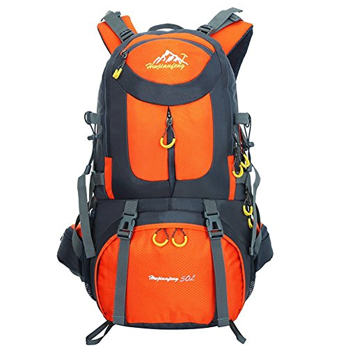 Hiking Backpack Waterproof for Men Backpacking Bag Travel Outdoor Sport  Daypack for Climbing Cycling Mountaineering Camping f9de917a04cf3