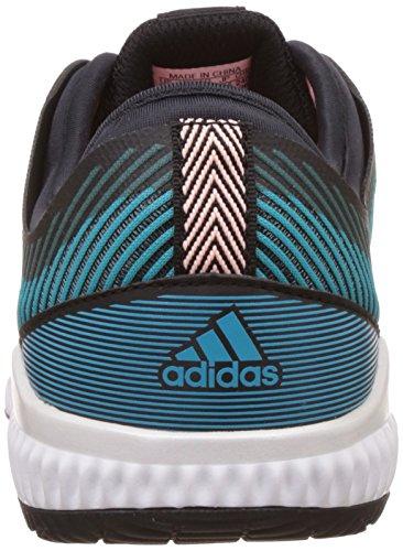 Adidas Damen Crazytrain Bounce W Turnschuhe, Schwarz (Negbas/Plamet/Azuene), 40 EU
